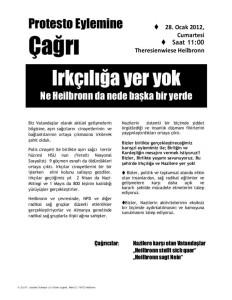 Januar 2012 Protesto Eylemine