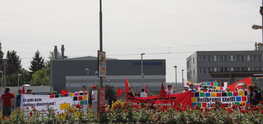 Antifaschistische Kundgebungstour am 30. Juni 2012 in Eppingen