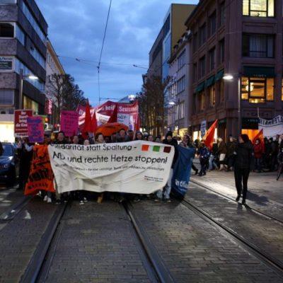 Demo gegen die AfD am 7. März 2016 in Heilbronn