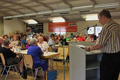 Gedenk-Veranstaltung für Walter Vielhauer im Heilbronner Gewerkschaftshaus am 9. Mai 2016