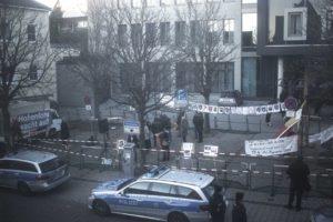 Die rechtsextreme Kundgebung in Öhringen am 3. Dezember 2016