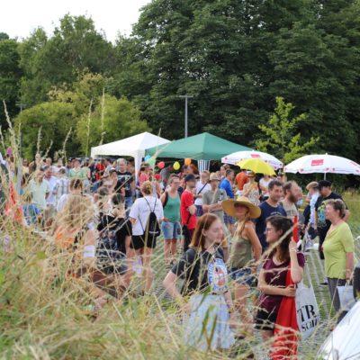 Kundgebung und Solidaritäts-Fest gegen die AfD-Veranstaltung in der Weinsberger Hildthalle am 19. Juli 2017