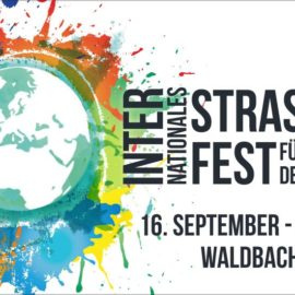 Straßenfest für Demokratie in Bretzfeld-Waldbach