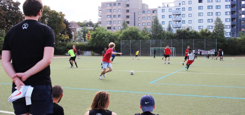 Kicken gegen Rassismus in Heilbronn am 22. September 2018