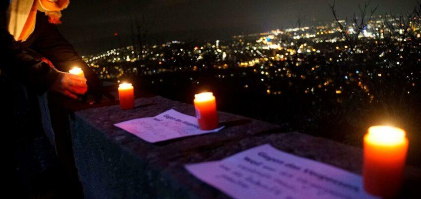 Gedenken auf dem Wartberg Heilbronn 2020