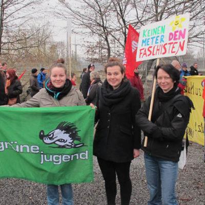 Demo gegen Nazis und Rassismus am 28. Januar 2012 in Heilbronn