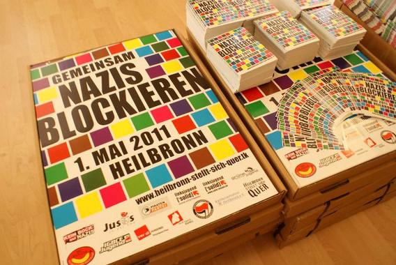 Unser Material gegen den süddeutschlandweiten Neonaziaufmarsch am 1. Mai 2011