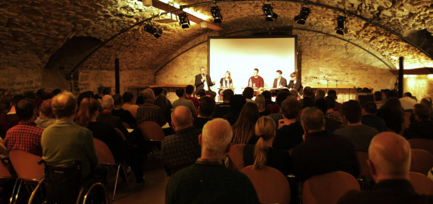 Podiumsveranstaltung am 29. März 2017 im Deutschhofkeller in Heilbronn