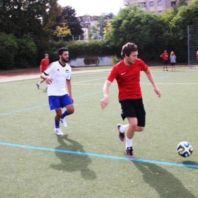 Kicken gegen Rassismus in Heilbronn am 22. September 2018